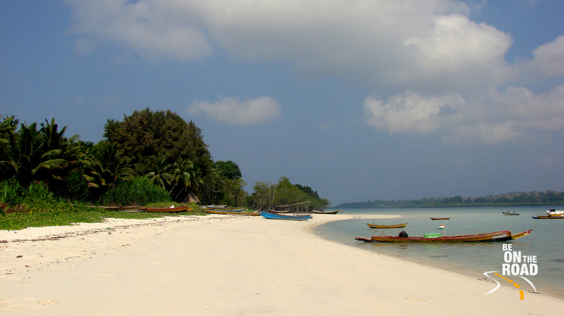 Silver sands of Beach No. 3, Havelock Island