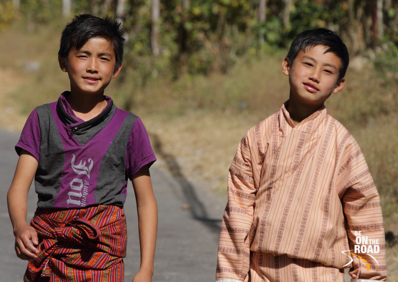Young Boys from Punakha, Bhutan