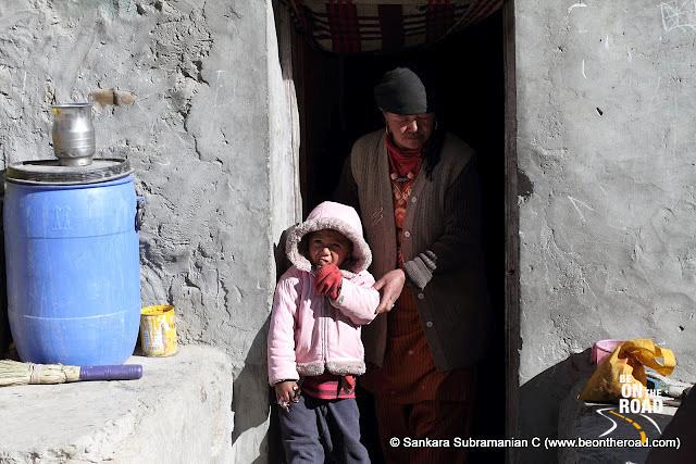 A Zanskar family