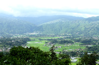 Lovely valley view as seen from Changgu Narayan Temple