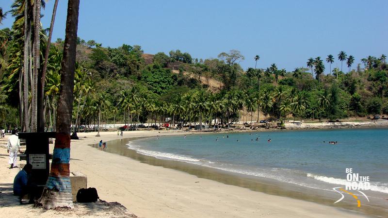 Corbyn's Beach, Port Blair, Andaman Islands, India