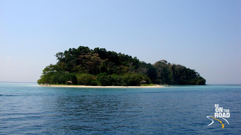 Jolly Buoy Island in the Marine National Park
