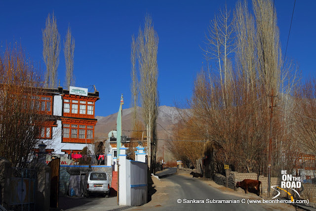 Entrance to Oriental Guest House in Leh