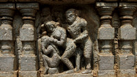 Erotic positions from Kamasutra on the walls of Somnathpur Temple