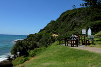 National park at the edge of Burleigh Beach, Gold Coast