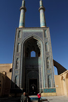 Beautiful Masjid e-Jame of Yazd, Iran