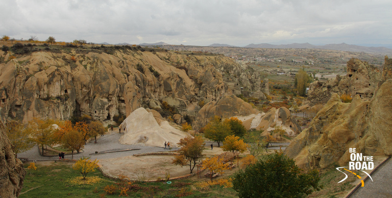 Stunning landscape of Goreme Open Air Museum, Cappadocia, Turkey