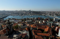 Class Istanbul view from Galata tower
