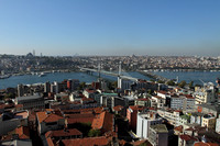 Istanbul and the Marmara sea