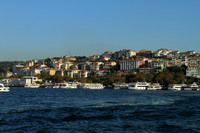 Istanbul houses with Bosphorus view