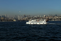 Istanbul view from the Bosphorus