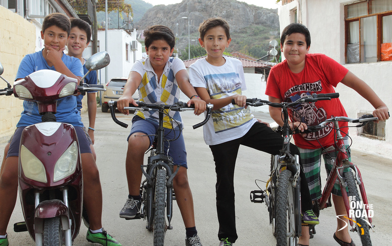 Kids of Fethiye, Turkey go for a day out