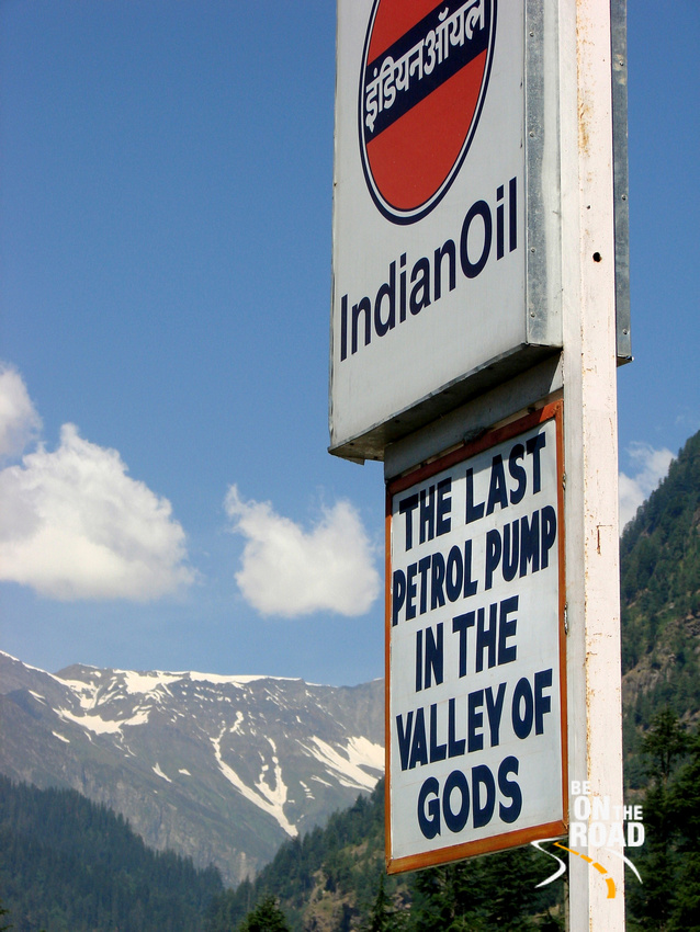 Petrol pumps are few and far between in Ladakh