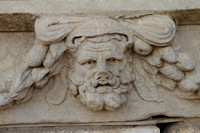 Stone Sculptures that still exist at Aphrodisias after 2000 years
