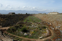 Aphrodisias stadium with capacity of 30,000 people
