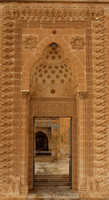 Main Door to Abdul Latif Mosque, Mardin