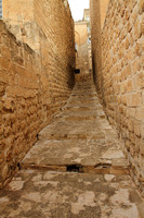 Narrow and Tall stone streets of Mardin