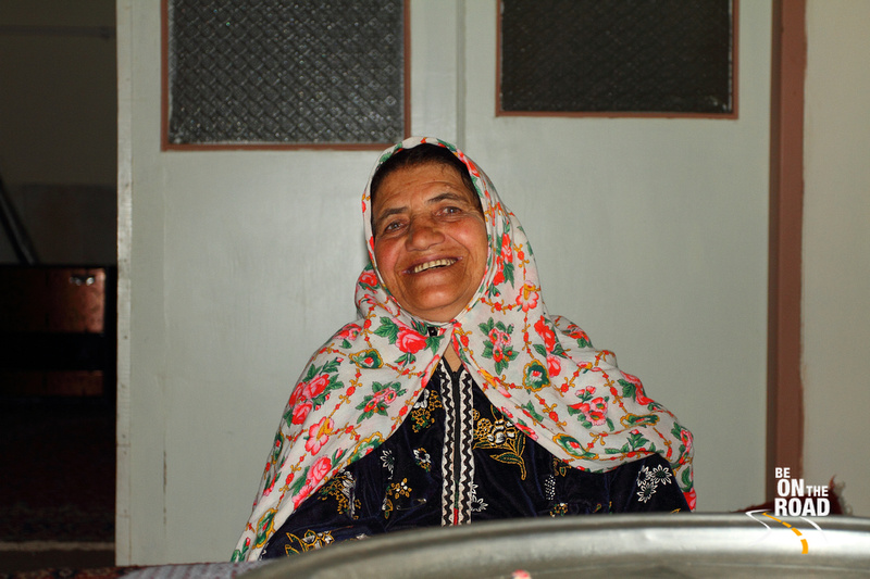 Close Portrait of Abyaneh Woman