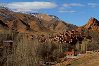 Spectacular mountain village of Abyaneh, Iran
