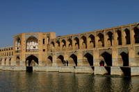 Beautiful Pol e-Khaju of Isfahan, Iran