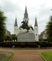 St Louis Cathedral from Jackson Square