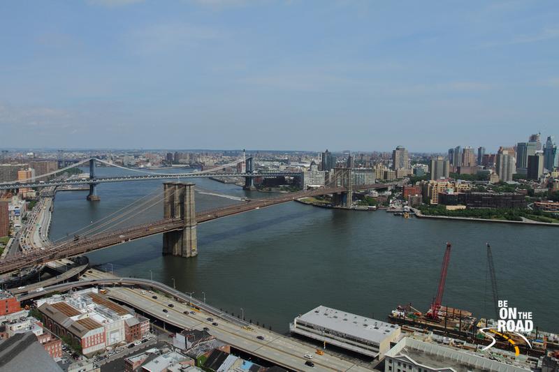 Iconic Brooklyn Bridge of New York