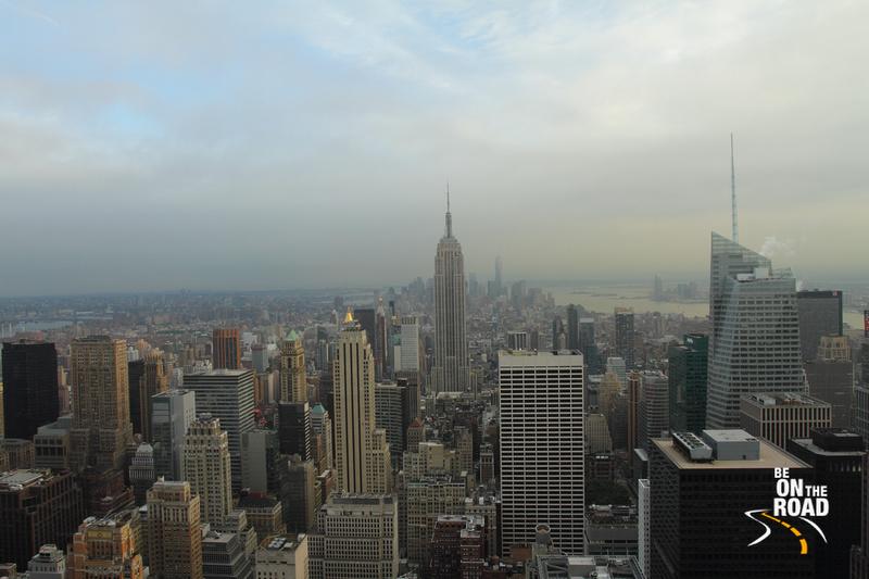 Empire State Building from Rockefeller Center, New York
