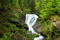 Silky Triberger Falls of Triberg, Germany