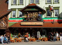 Triberg - the town of Cuckoo clocks - Germany