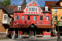 Colourful buildings of Triberg, Germany