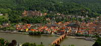 Fairytale Heidelberg as seen from Philosopher's Way