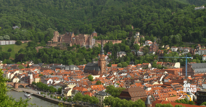 Fairytale town of Heidelberg