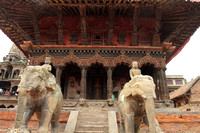 Beautiful temples at Patan Heritage Zone