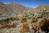 Dhankar - my favorite village in the Spiti Valley