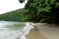 Gorgeously remote and green Sabang Beach