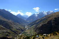 Bhaga river and the sensational Keylong valley