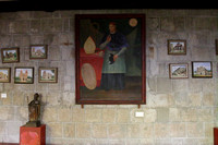 Paintings on the walls of San Augustin Church Museum, Intra Muros, Manila