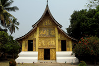 Outside view of Vat Xieng Thong at Luang Prabang, Laos
