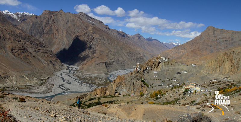 You can do nothing but admire nature's bounty at Dhankar, Spiti Valley, Himachal Pradesh