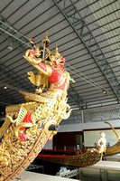 Royal Barge of Thailand studded with gold and jewels