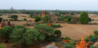 Bagan view from Shwe San Taw Temple