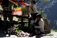 Street Vegetable Seller from Bhutan