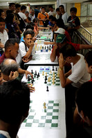 Speed Chess being played at a mall near Gualalupe MRT Station, Manila