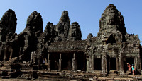 Stunning Bayon temple, Siem Reap, Cambodia