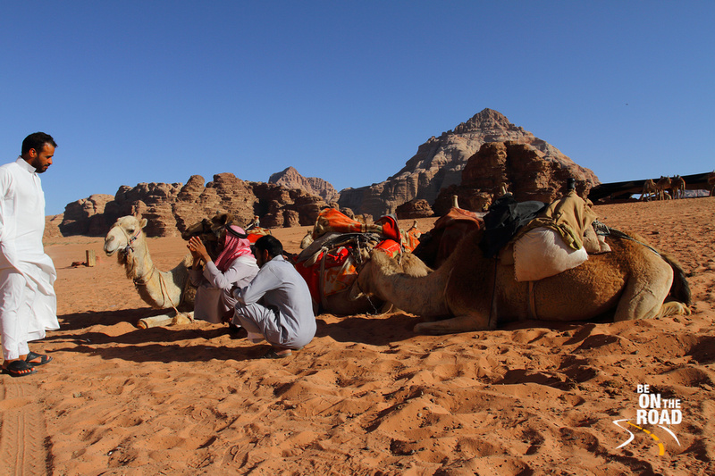 BE ON THE ROAD Travel Photography | Sankara Subramanian C: Wadi Rum &emdash; Local meeting in the gorgeous desert of Wadi Rum, Jordan