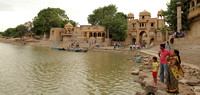 Gadisar Lake - great place to spend your evening at Jaisalmer