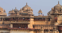 Orchha Jehangir Mahal in all its glory