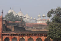 Mosque inside Red Fort, Agra