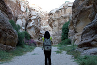 Photographing the canyons of Little Petra, Jordan