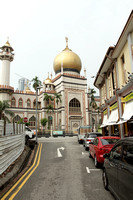 Arab quarter of Singapore